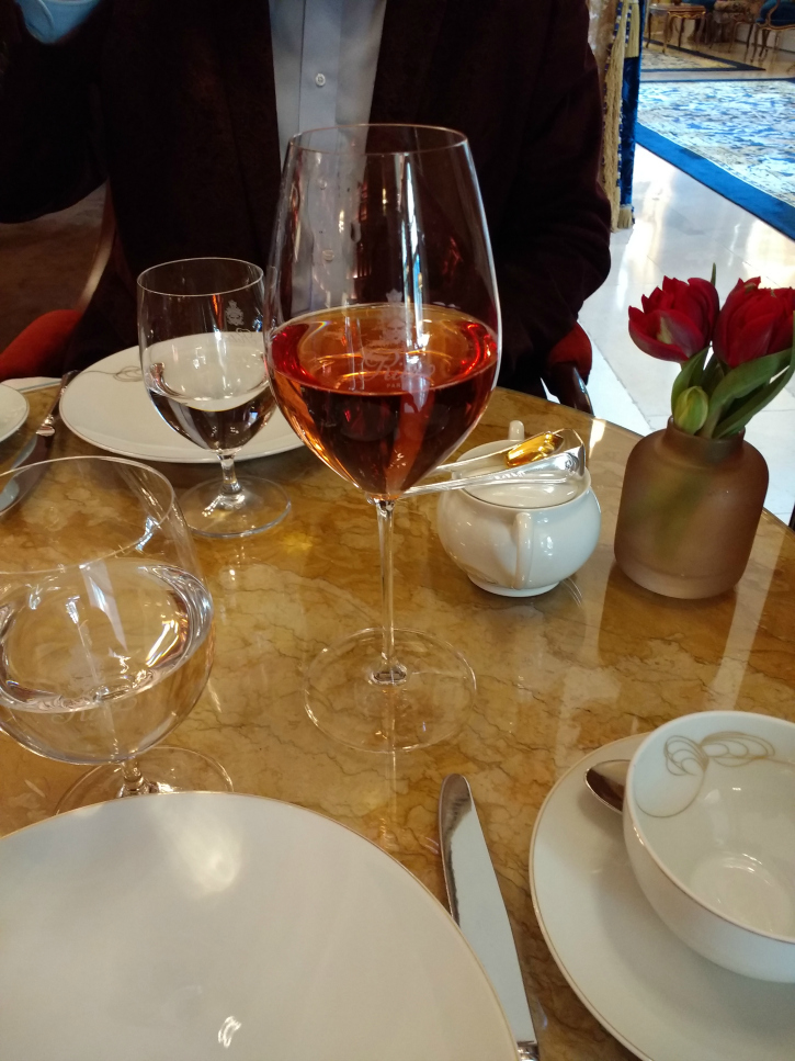 Tea for two at the Ritz Paris- March 2018