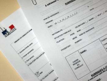 Bureaucracy-Offi and Visa Form