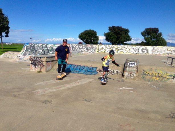 hunter tim parksville skateboard park