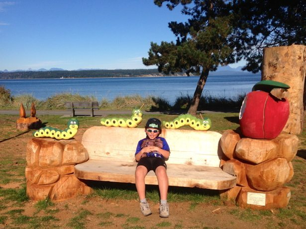 hunter campbell river worm bench