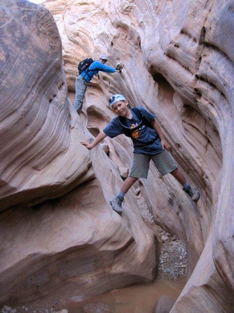 lee hunter bell canyon slot
