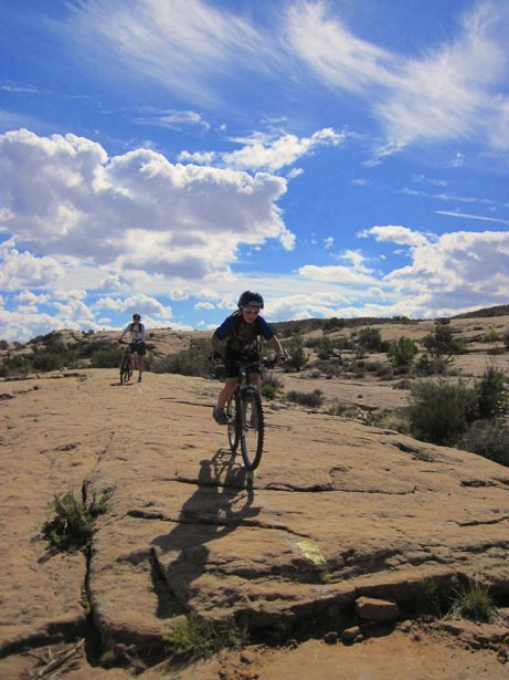 lee hunter moab brand bike trails 2