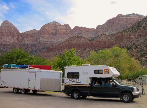 truck trailer zion backdrop