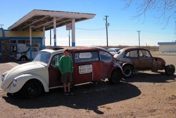 hunter bug limo route 66