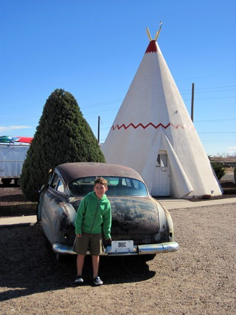 hunter route 66 tee pee doc hudson