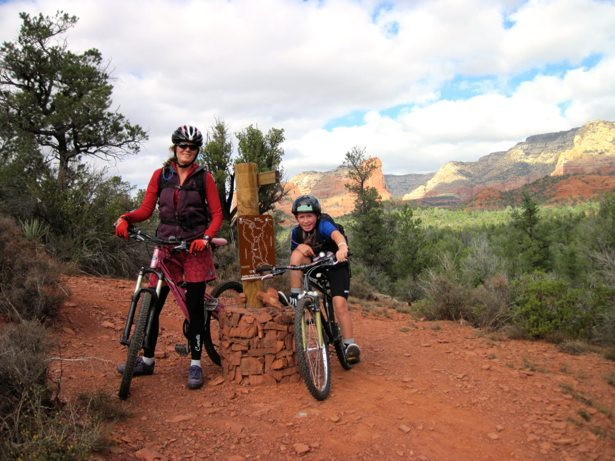 lee hunter biking sedona