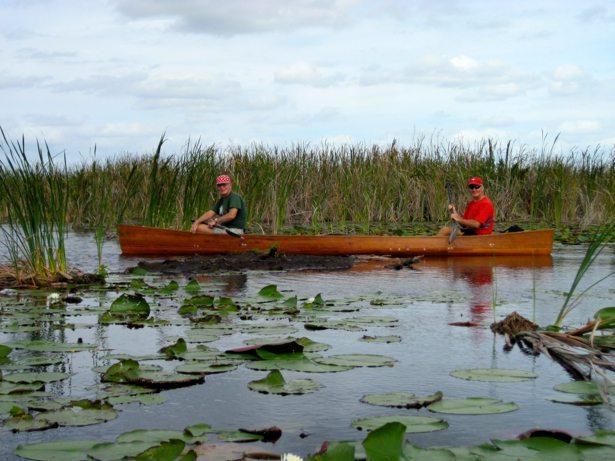 bob andy canoe