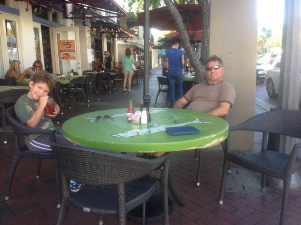patio lunch
