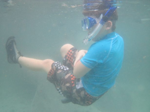 hunter snorkeling CR