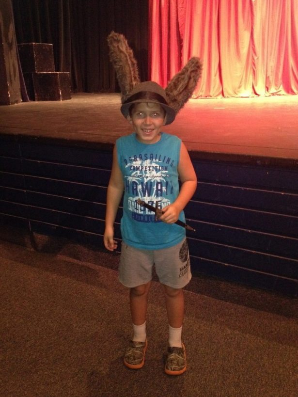 hunter as donkey