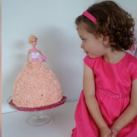 A Barbie Birthday Cake