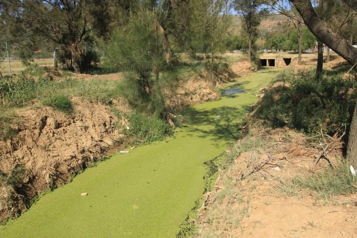 Aguas contaminadas que llegan de las zonas circundantes (Foto: Chaski Klandestino)