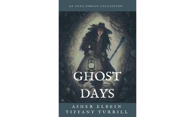 """Preliminary cover image for """"Ghost Days"""""""