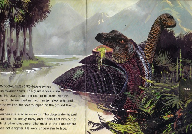 Brontos in the swamp
