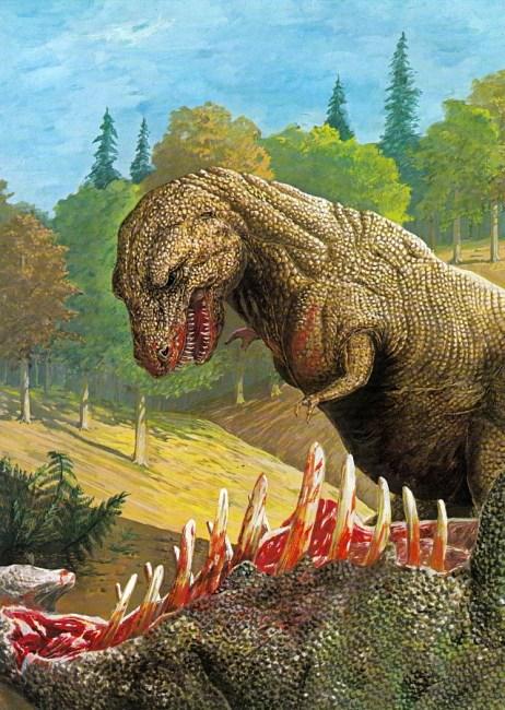 Tyrannosaurus by Ann Baum