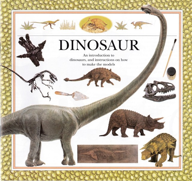 Dinosaur Action Pack book cover