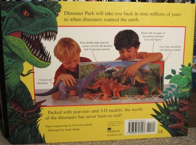 Dinosaur Park back cover