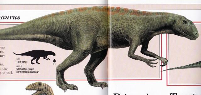 Acrocanthosaurus by Steve Kirk