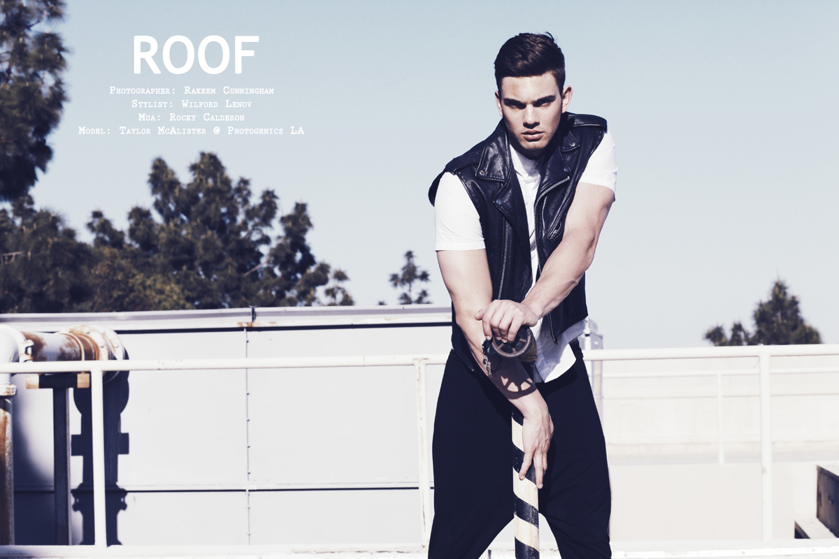 Taylor McAlister by Rakeem Cunningham for CHASSEUR MAGAZINE