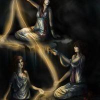 Les Moires, les trois soeurs fatidiques