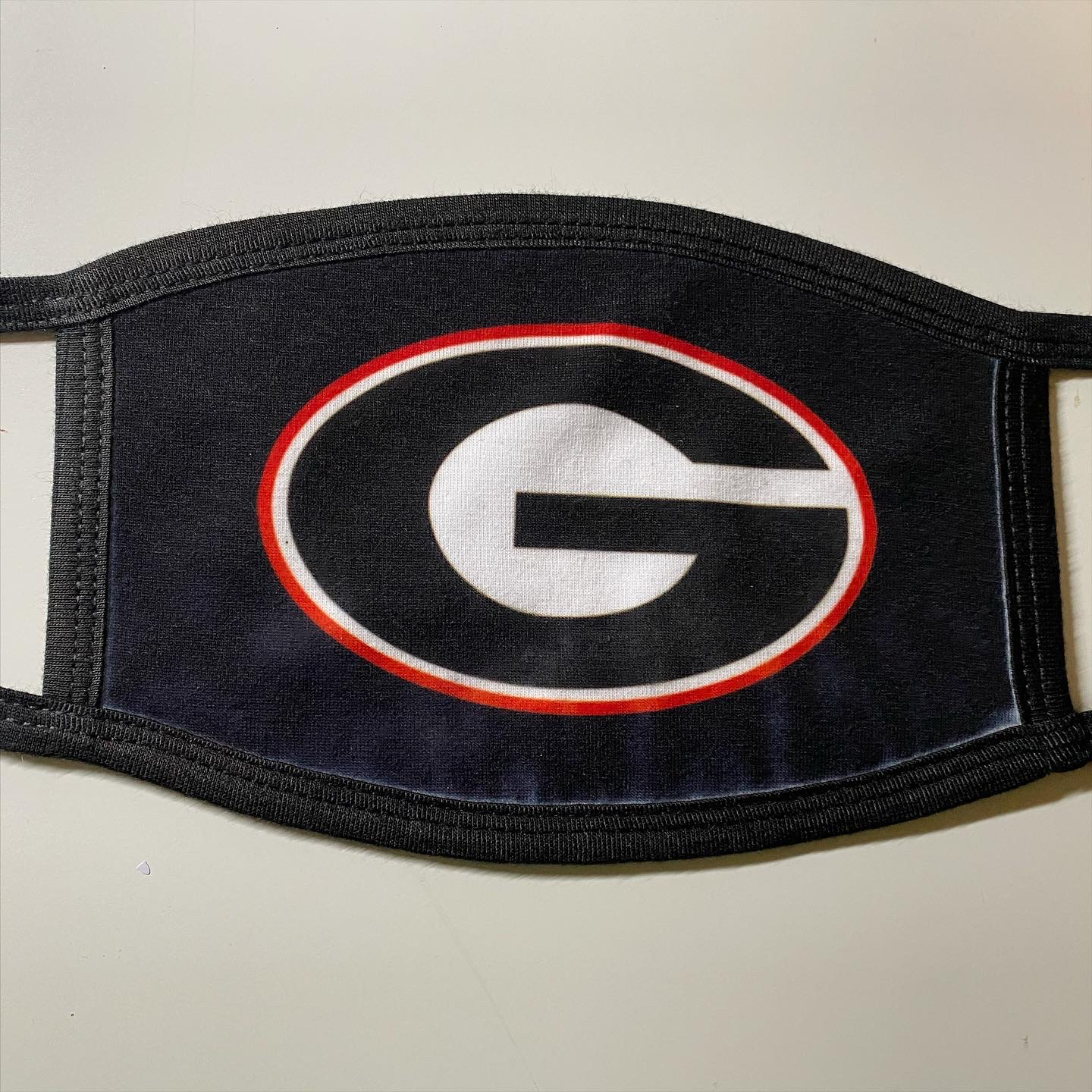 Georgia college football mask face cover