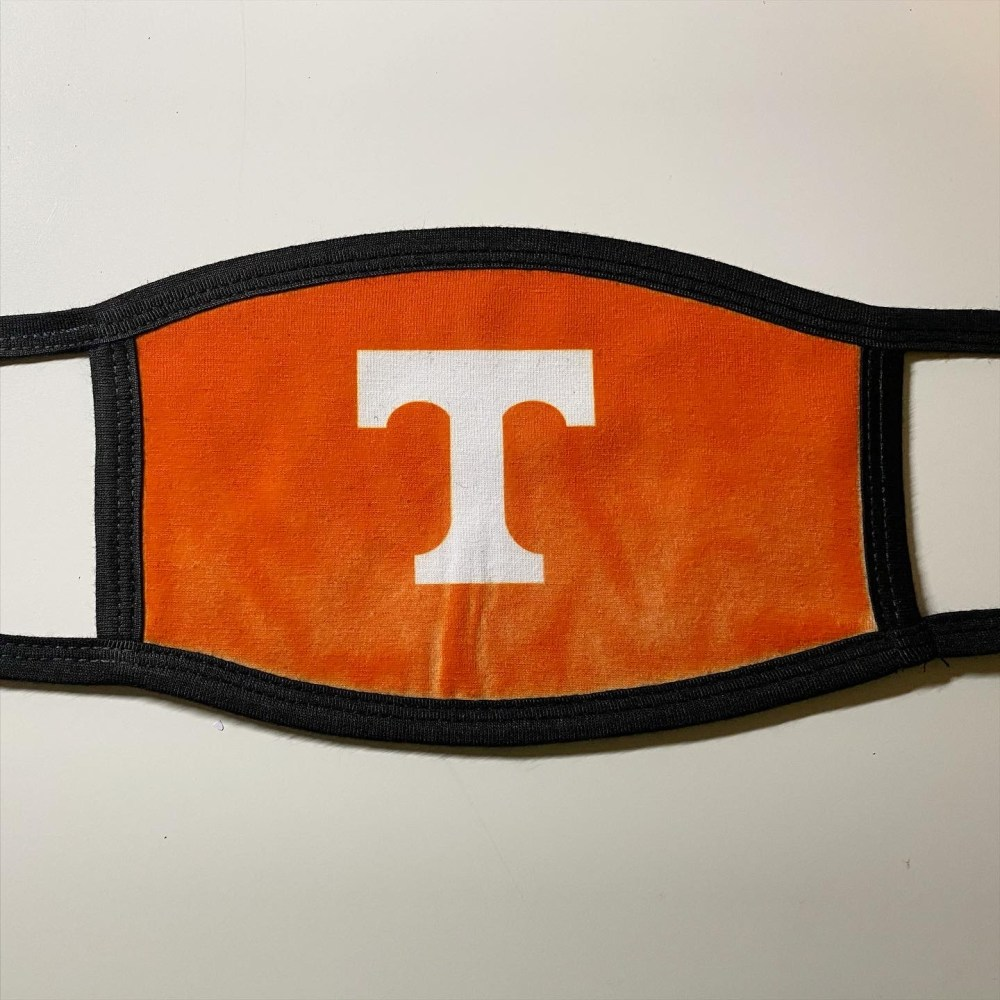 Tennessee Football face cover mask