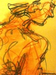 Female head detail #3