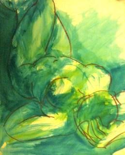Blue Nude #1