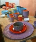 Bright ceramics