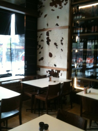 Backbone Restaurant's meaty interior #1