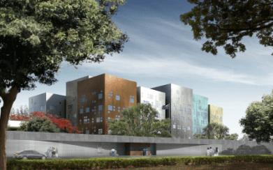 The new Australian Embassy
