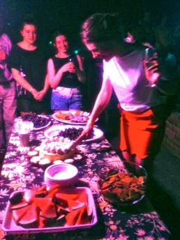 Party spread in Templestowe