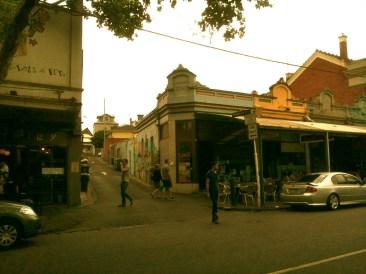 Kensington cafes Bellair and Bridget St