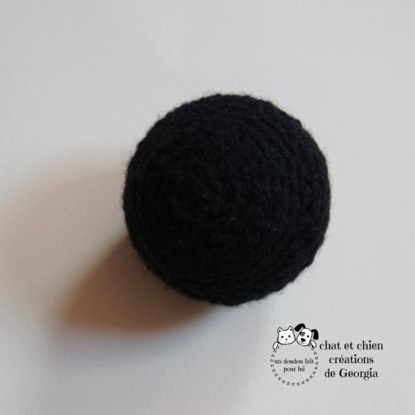 Ballaine noir uni créée par Georgia