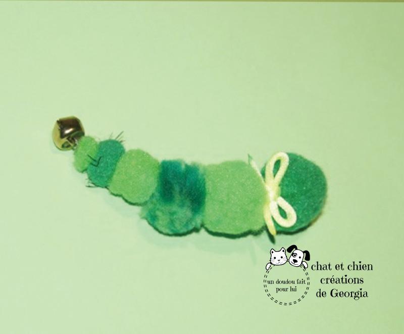 Garçon Cheni'son, jouet créé pour les chats par Georgia
