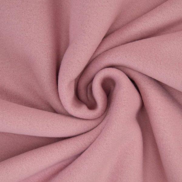 Tissu polaire mauve