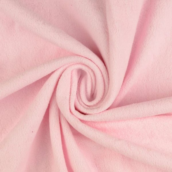 tissu polaire rose