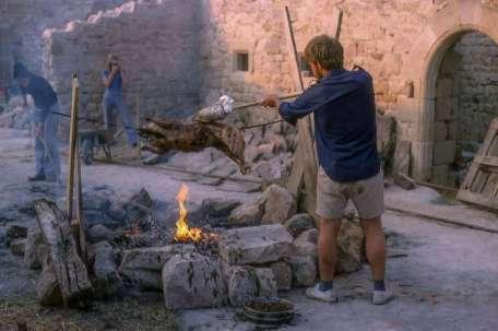 cuison au feu de bois