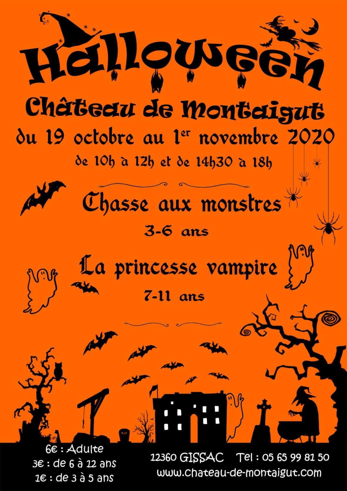 Halloween à Montaigut jeux enfants