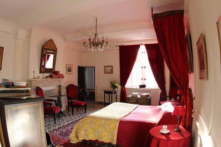 Vue Lit 2 Chambre au chateau Napoleon