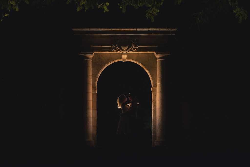 Arche et mariés