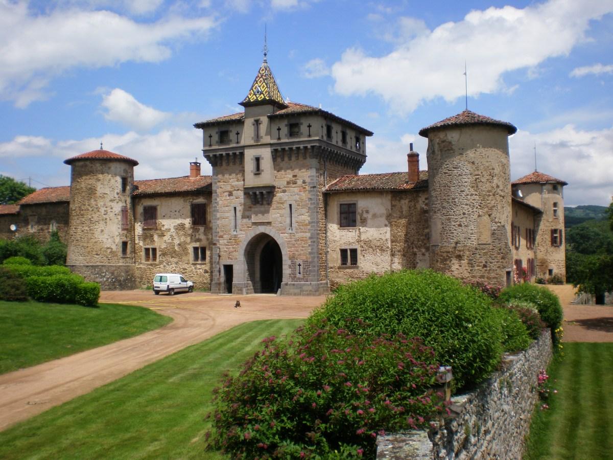 Saconay, façade Sud-ouest
