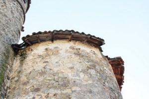 Saconay - Le toit de la tour nord