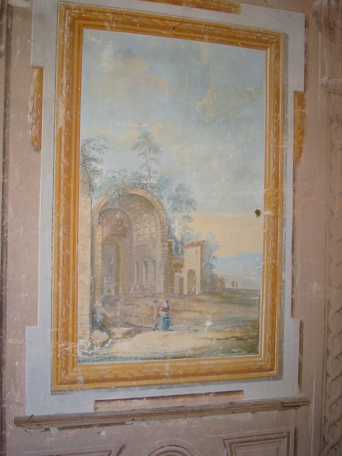 Saconay - Fresque de la galerie 1