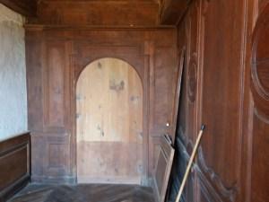 Une jolie porte condamnée