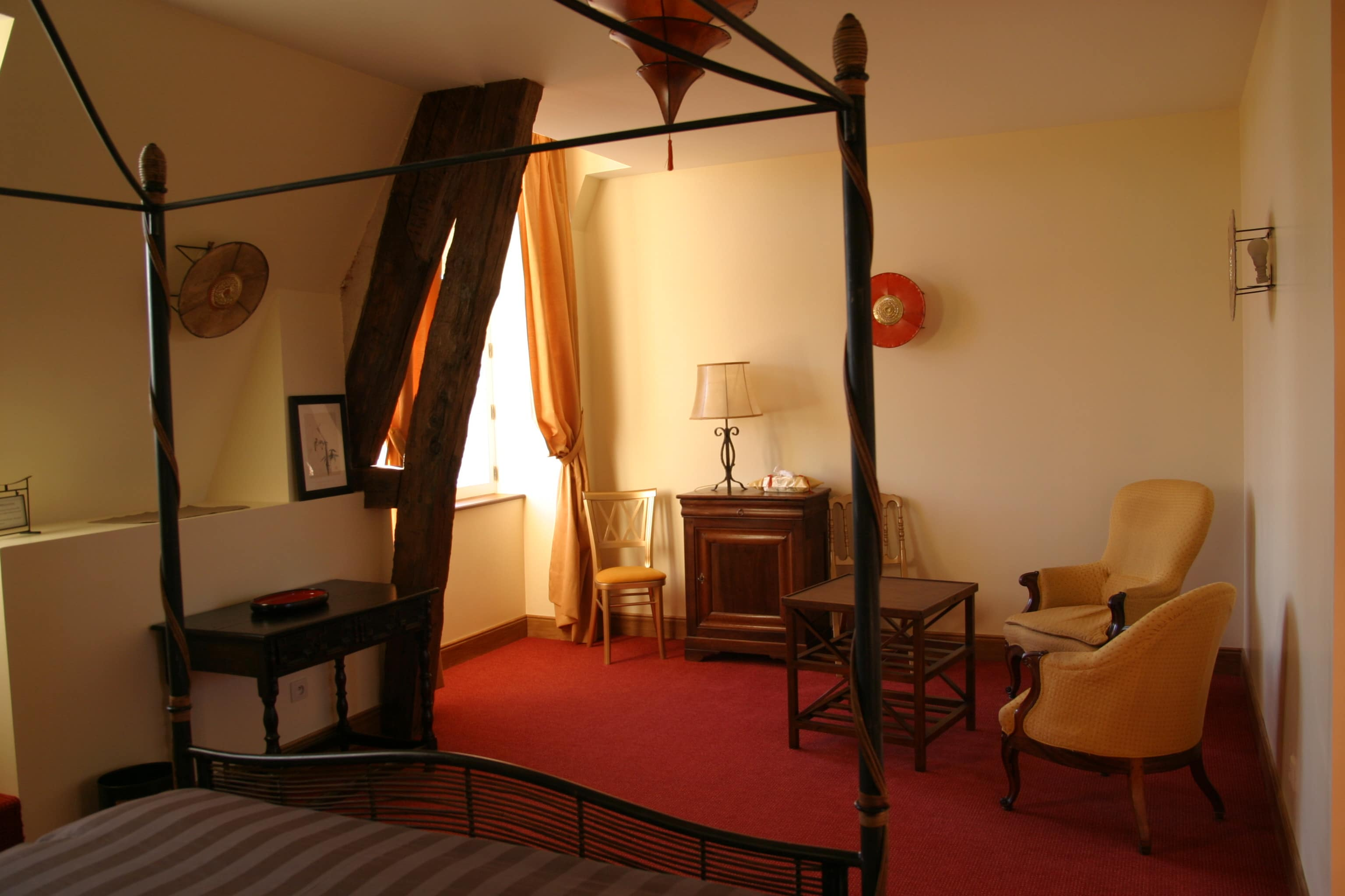 Chambre-Château Tilly - Louise