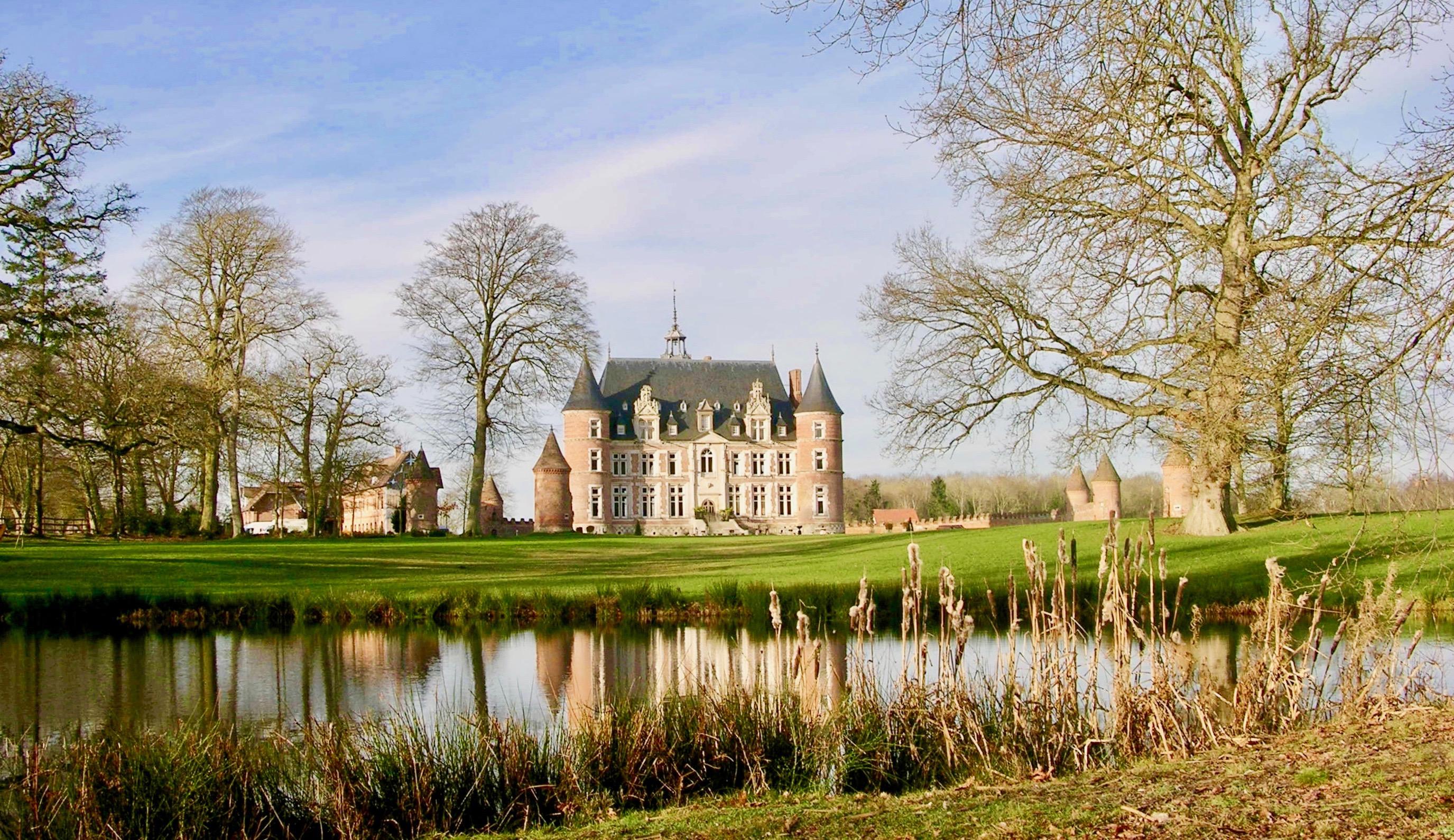 Château Tilly - Présentation - Début de l'hiver