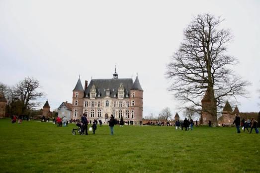 oeufs de pâques - chateau de Tilly