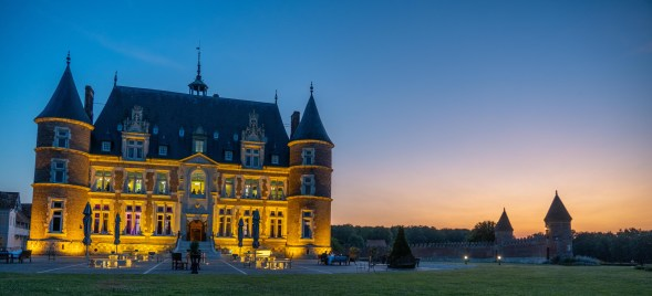 Château de Tilly couchée de soleil-1
