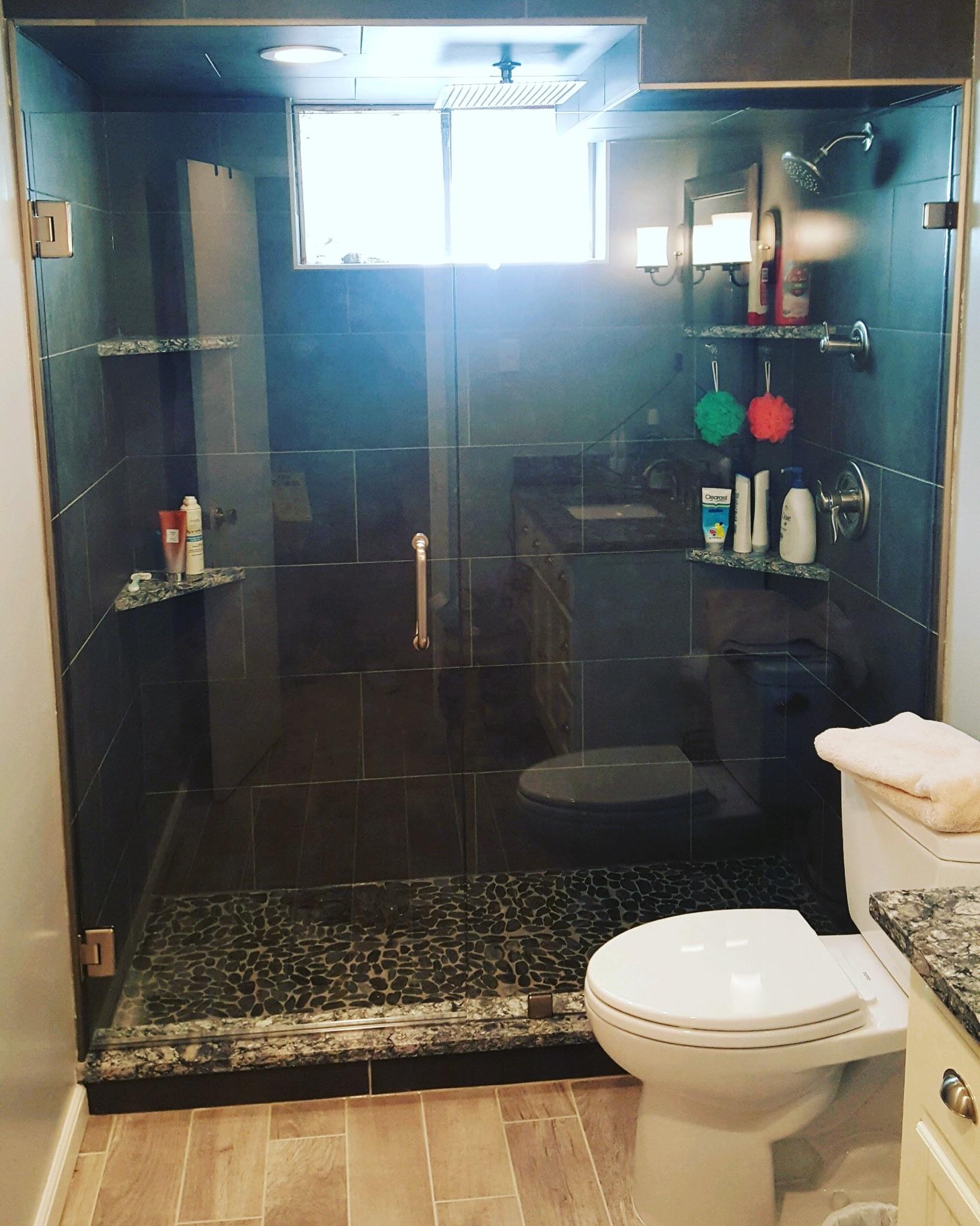 Shower In Aurora CO Chateau Window And Shower Enclosure - Bathroom remodel aurora co
